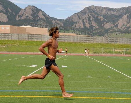 Correr barefoot