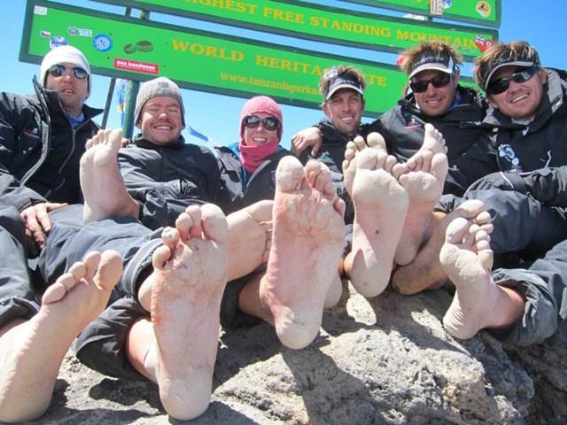 Equipo Impi en el Kilimanjaro