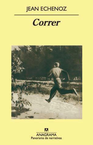 Libro Correr de Jean Echenoz